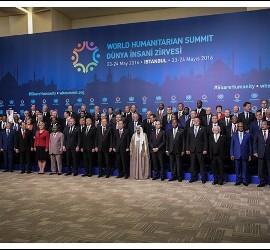 Participantes de la cumbre de Estambul