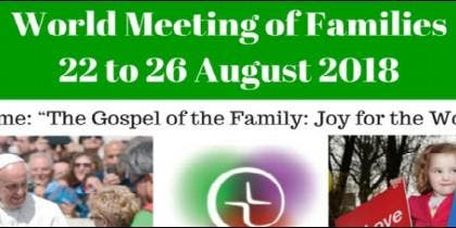 Encuentro Mundial de las Familias en Dublín, 2018