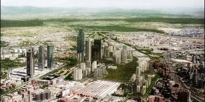 Distrito Castellana Norte, el desarrollo de Operación Chamartín.
