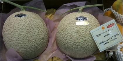 El melón Yubari King.