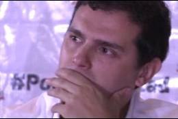 Las lágrimas de Rivera en Caracas