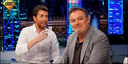 Pablo Motos y Pablo Carbonell.