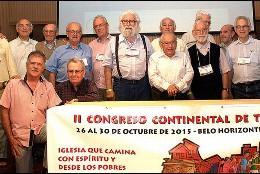 Boff, Gutiérrez y otros teólogos en un congreso organizado por Amerindia