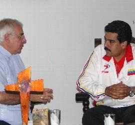Moronta recibió a Maduro