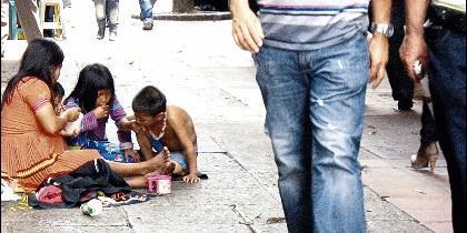 Indiferencia ante la pobreza