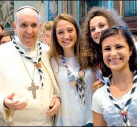 Mujeres con el Papa