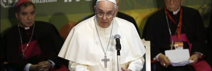 Francisco reclama a la FAO aumentar los fondos para la paz y el fin del comercio de armas