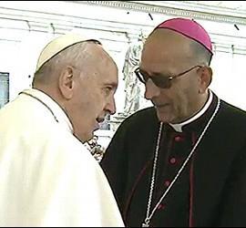 Omella con el Papa
