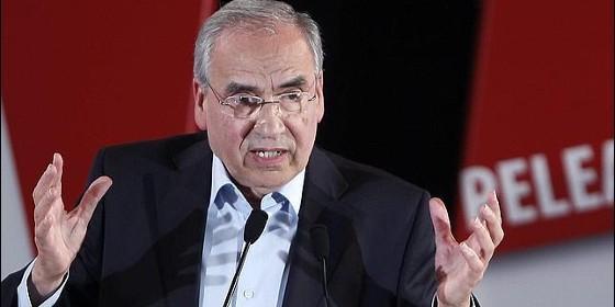 Alfonso Guerra, exvicepresidente del Gobierno con el PSOE.