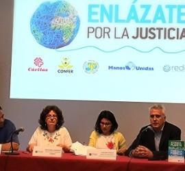 Presentación de la campaña de Enlázate por la Justicia