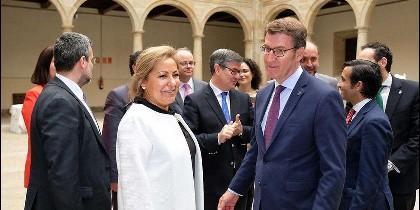 Rosa Valdeón ha participado en el 'V Encuentro Interterritorial de Regiones Españolas con Desafíos Demográficos'