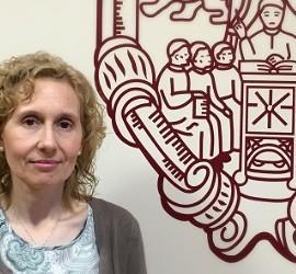 Miriam de las Mercedes Cortés, rectora de la Upsa