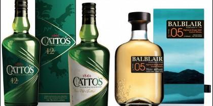 Los nuevos whiskies del Grupo Caballero.