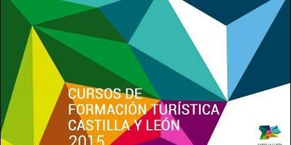 Cartel promocional de la formación turística en CyL