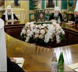 Los responsables de la Iglesia ortodoxa rusa