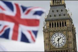 El Big Ben y la Unión Jack británica.