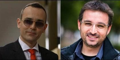 Risto Mejide y Jordi Evole.