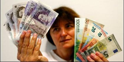 Brexit, UE, libras y euros.