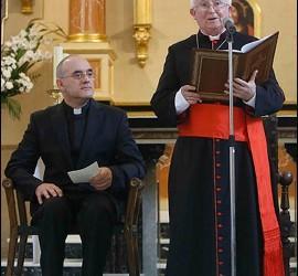 Arturo Ros, con Cañizares
