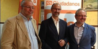 Luis Fuentes junto a Francisco Igea, el único representante de C`s en el Congreso en Castilla y León