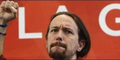 Pablo Iglesias Turrión, líder de Podemos.