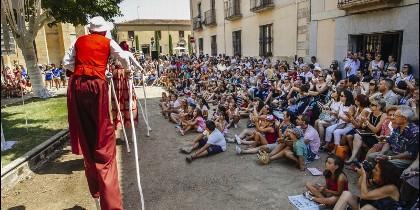 Actuación de compañia teatral en Ciudad Rodrigo