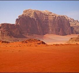 Desierto de Wadi Rum, Jordania