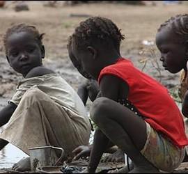 Niños de Sudán del Sur
