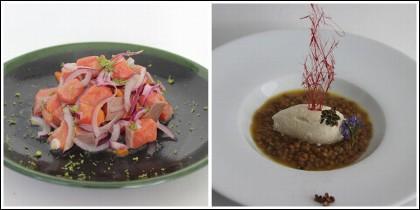 Platos de La Sopa Boba.