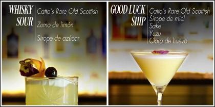 Cócteles con whisky.