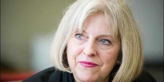 La primer ministro torie Theresa May.