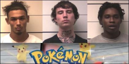 Los atracadores de Pokemon GO.