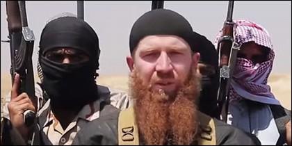Abu Omar al Shishani 'El Checheno'.