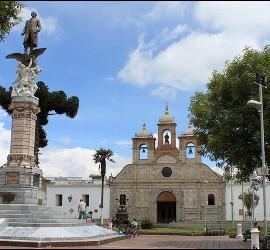 La catedral de Riobamba
