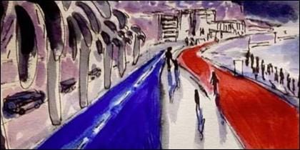 Una ilustración de Lapo Elkann.