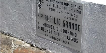 El jesuita amigo de San Romero asesinado en 1977