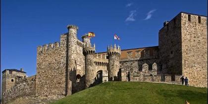 Imagen del Castillo de Ponferrada