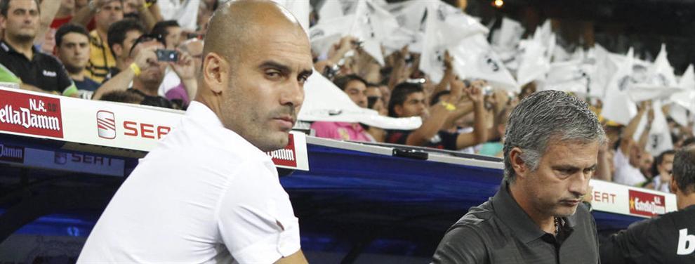 Guerra brutal entre José Mourinho y Pep Guadiola por un jugador del Calcio