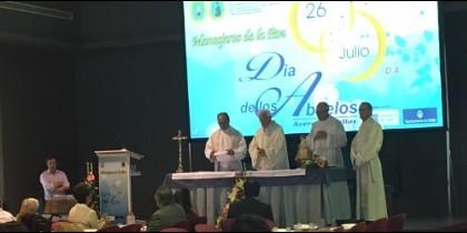 Imagen de la misa del Día de los Abuelos