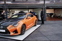 Lexus RC F Naranja