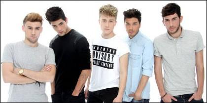 El grupo musical 'Auryn'.