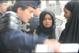 La mujer inmigrante y la policía francesa