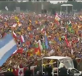 Un millón de jóvenes, con el Papa