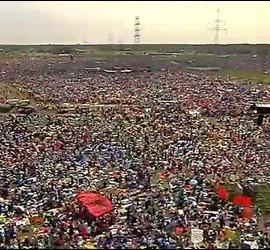 Más de un millón y medio de jóvenes en Cracovia
