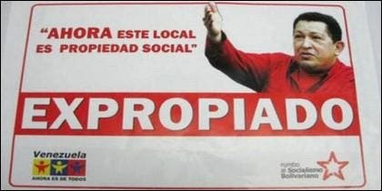 Las expropiaciones de Chávez