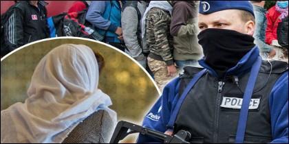 Refugiados en Bélgica