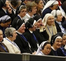 Mujeres religiosas en la Iglesia
