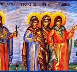 Diáconas en la Iglesia primitiva