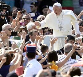 El papa en Cracovia