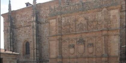 Comienzan las obras de restauración de la Fachada de la Universidad de Salamanca